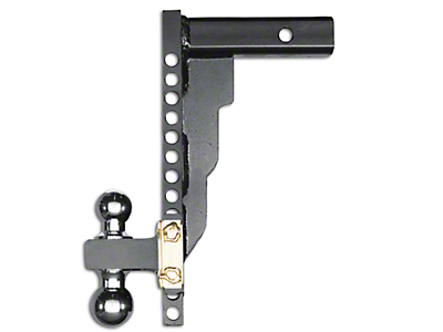 Husky 2.5 in. Receiver Adjustable Ball Mount - 14 in. Drop Hitch (97-18 All)