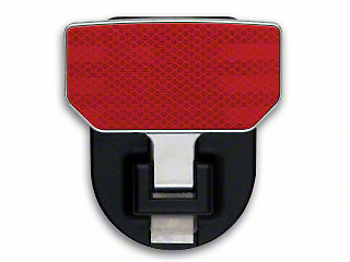 Carr HD Hitch Step - Red Reflector (97-18 All)