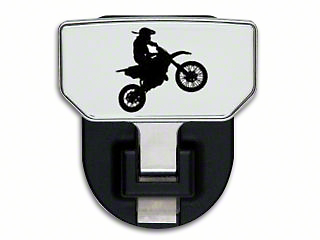 Carr HD Hitch Step w/ Dirt Bike Logo (97-18 All)