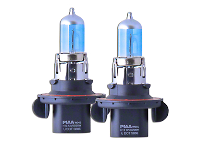 PIAA Xtreme White Hybrid Low Beam Bulbs - H13/9008 (04-14 w/ Halogen Headlights)