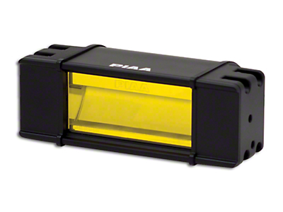 PIAA 6 in. RF Series Yellow LED Light Bar - Fog Beam (97-18 All)