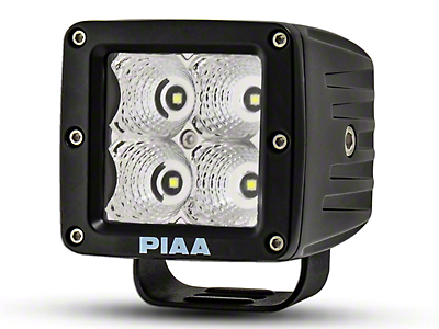 PIAA 3 in. Quad Series LED Cube Light - Flood Beam (97-18 F-150)