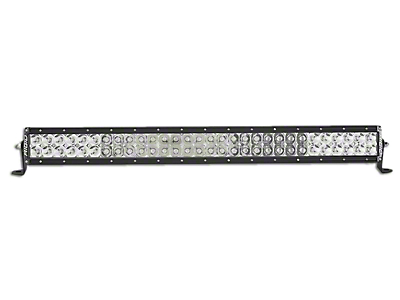 Rigid Industries 28 in. E-Series Amber LED Light Bar - Flood/Spot Combo (97-18 All)