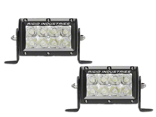 Rigid Industries 4 in. E-Mark E-Series LED Light Bars - Spot Beam - Pair (97-18 F-150)