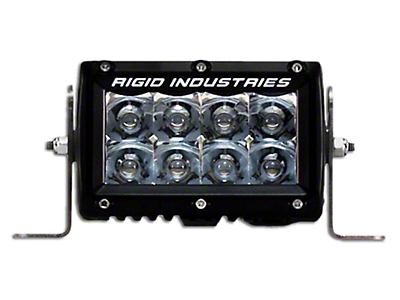 Rigid Industries 4 in. E-Series Amber LED Light Bar - Spot Beam (97-18 All)