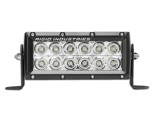 Rigid Industries 6 in E-Series MIL LED Light Bar - Flood Beam (97-18 All)