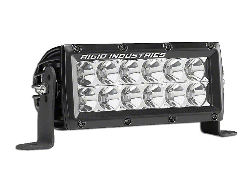 Rigid Industries 6 in E-Series MIL LED Light Bar - Spot Beam (97-18 All)