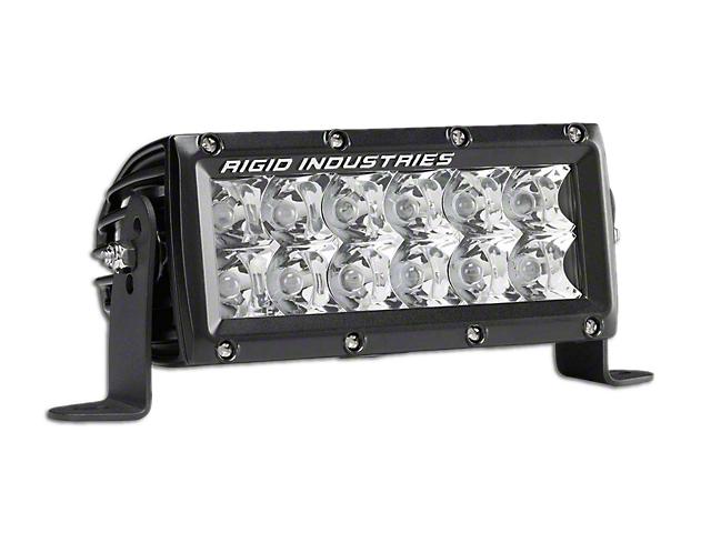 Rigid Industries 6 in. E-Mark E-Series LED Light Bar - Spot Beam (97-18 All)