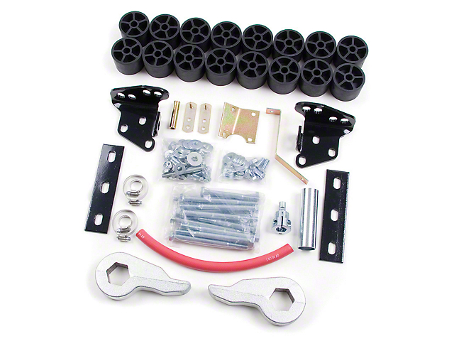 Zone Offroad 4 in. Combo Lift Kit (97-03 4WD F-150)