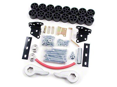 Zone Offroad 4 in. Combo Lift Kit (97-03 4WD)