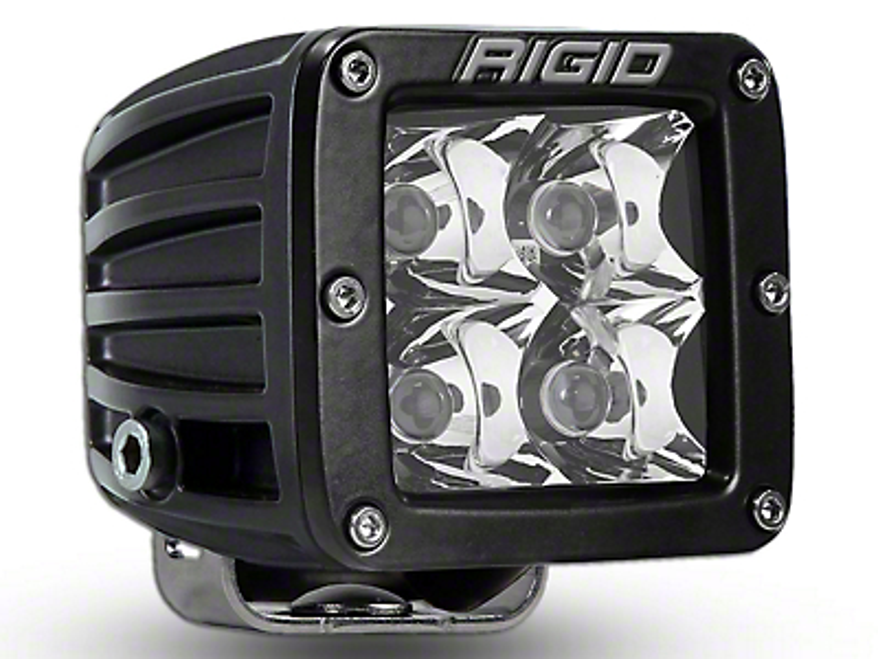 Rigid Industries D-Series HD Amber LED Cube Light - Spot Beam (97-18 F-150)