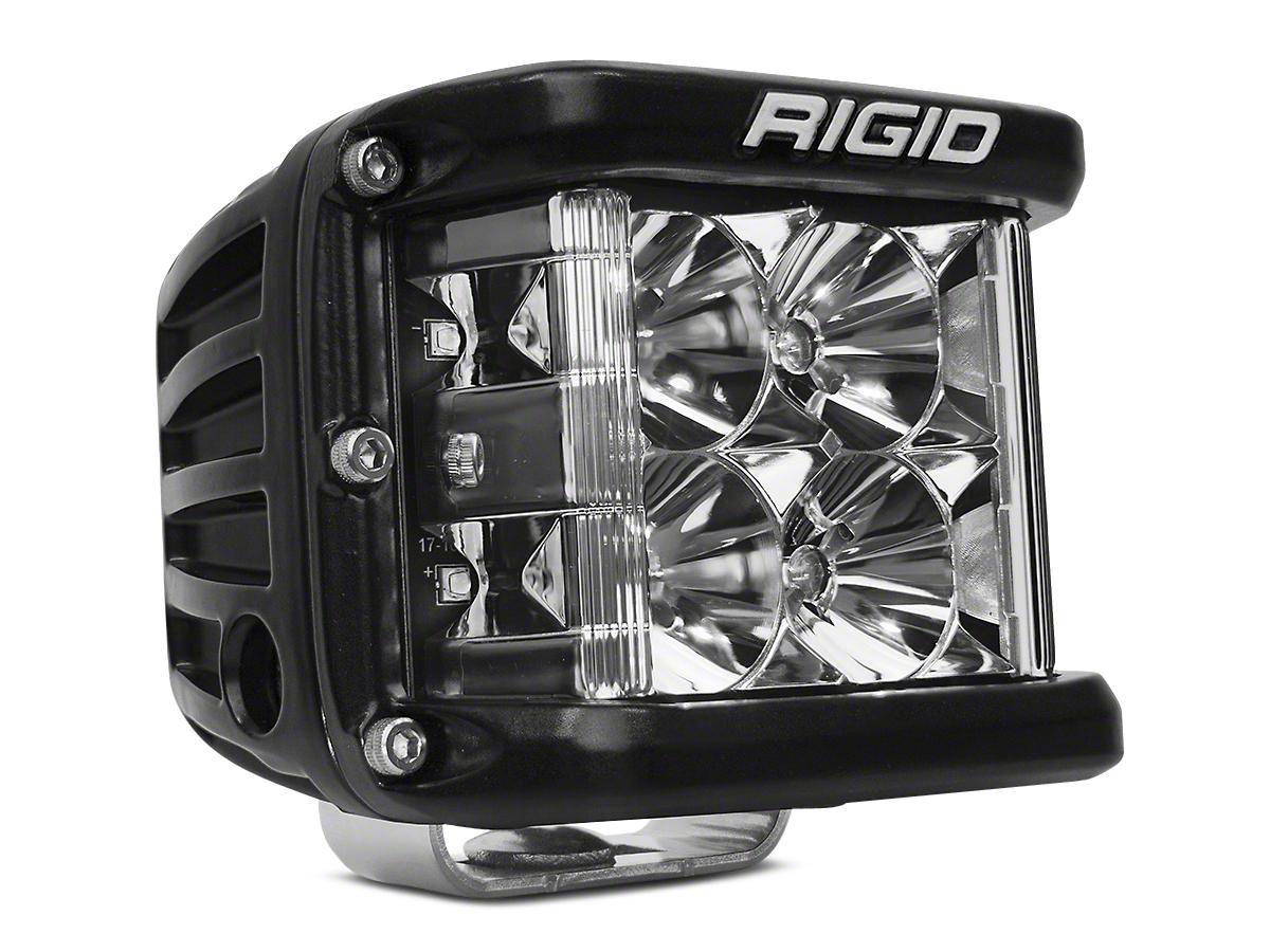 Rigid Industries D-SS Side Shooter LED Cube Light - Flood Beam