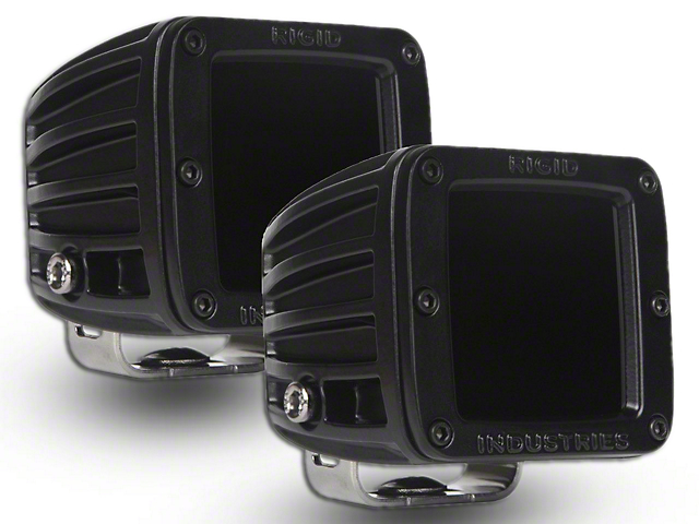 Rigid Industries Dually Infrared LED Cube Lights - Spot Beam - Pair (97-18 F-150)