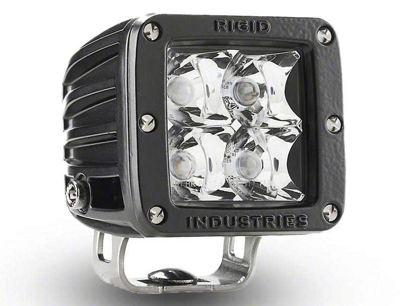 Rigid Industries E-Mark Dually LED Cube Light - Spot Beam (97-18 All)