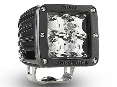 Rigid Industries E-Mark Dually LED Cube Light - Spot Beam (97-18 All)