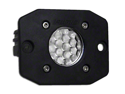 Rigid Industries Ignite Flush Mount LED Light - 60 Deg. Diffused Beam (97-18 F-150)