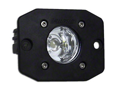 Rigid Industries Ignite Flush Mount LED Light - Flood Beam (97-18 All)
