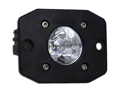 Rigid Industries Ignite Flush Mount LED Light - Spot Beam (97-18 All)