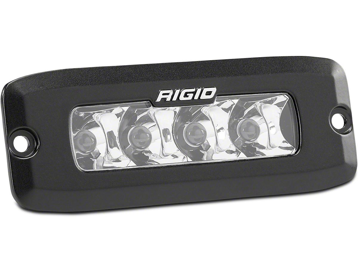 Rigid Industries SR-Q Series Flush Mount LED Light Bar - Spot Beam (97-18 F-150)