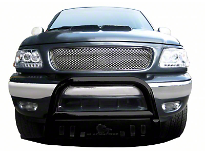 Black Horse Off Road Bull Bar w/ Skid Plate - Black (97-03 All)