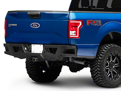 Black Horse Off Road Armour Rear HD Bumper (15-18 F-150, Excluding Raptor)