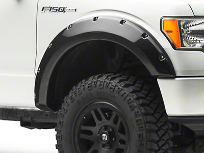 Black Horse Off Road Pocket Style Fender Flares - Matte Black (09-14 F-150 Styleside, Excluding Raptor)