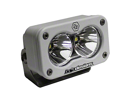 Baja Designs S2 Pro White LED Light - Spot Beam (97-18 F-150)