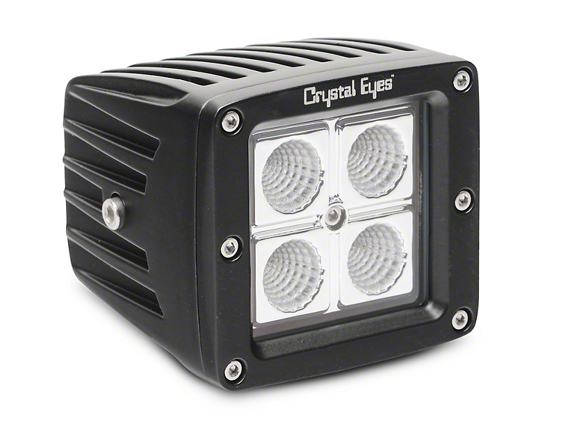 Alteon 3 in. Work LED Cube Light - 60 Degree Flood Beam
