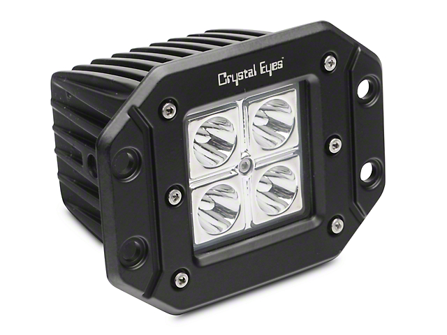 Alteon 5 in. Work Flush Mount LED Cube Light - 30 Degree Flood Beam