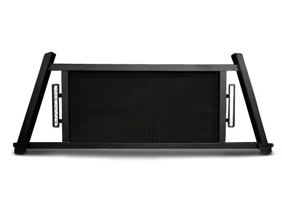 Royalty Core RC88X Ultra Billet Headache Rack w/ LED Light Bars (04-18 F-150 Styleside)
