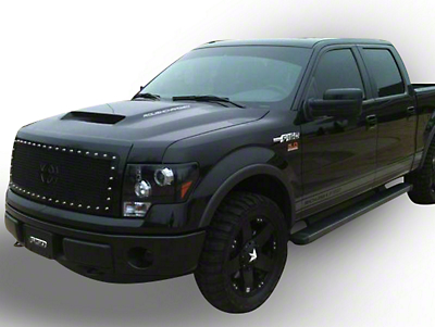 Royalty Core RC1 Upper Replacement Grille w/ Center Emblem - Black (09-12 F-150, Excluding Raptor)