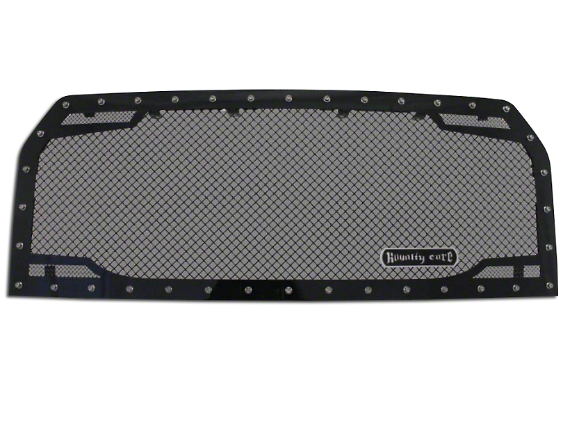 Royalty Core RC2 Twin Mesh Upper Replacement Grille - Black (15-17 F-150, Excluding Raptor)
