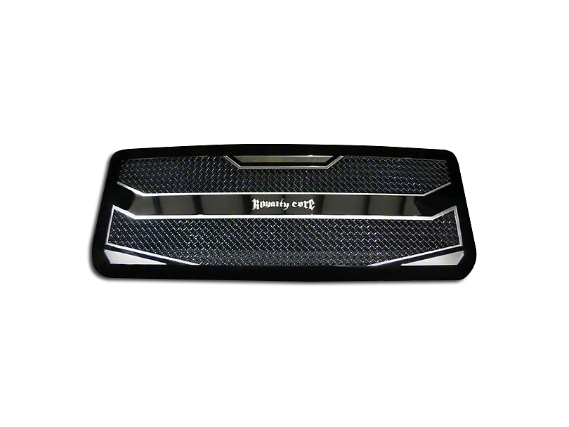 Royalty Core RC4 Layered Upper Replacement Grille - Black (13-14 F-150, Excluding Raptor)