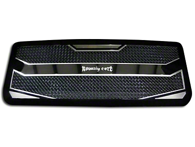 Royalty Core RC4 Layered Upper Replacement Grille - Black (13-14 All, Excluding Raptor)
