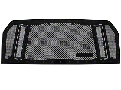 Royalty Core RCX Explosive Upper Replacement Grille w/ Dual 11 in. LED Light Bars - Black (15-17 F-150, Excluding Raptor)