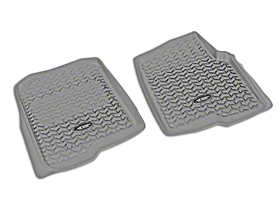 Rugged Ridge All-Terrain Front Floor Liners - Gray (04-08 F-150)