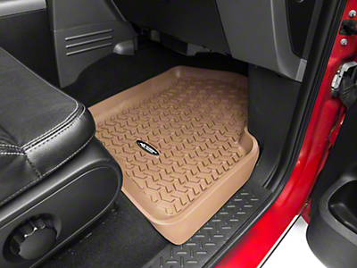 Rugged Ridge All-Terrain Front Floor Liners - Tan (04-08 F-150)