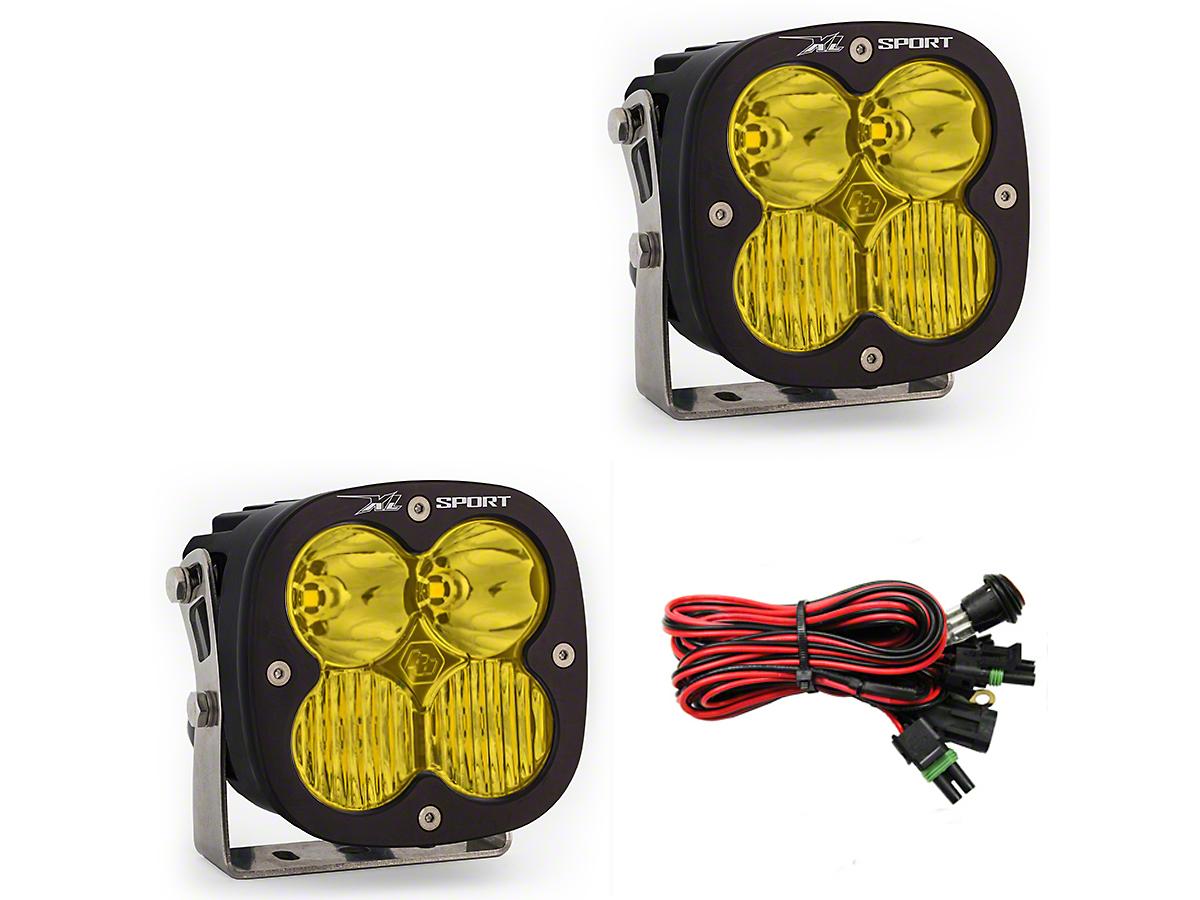 Baja Designs XL Sport Amber LED Light - Driving/Combo Beam - Pair (97-18 F-150)