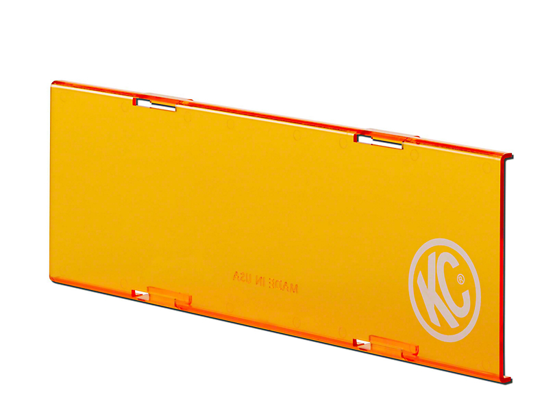 KC HiLiTES 10 in. C-Series Cover - Orange (97-19 F-150)