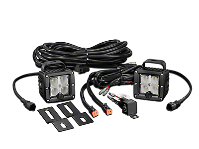KC HiLiTES 3 in. C-Series C3 LED Back Up Light - Pair (97-18 F-150)
