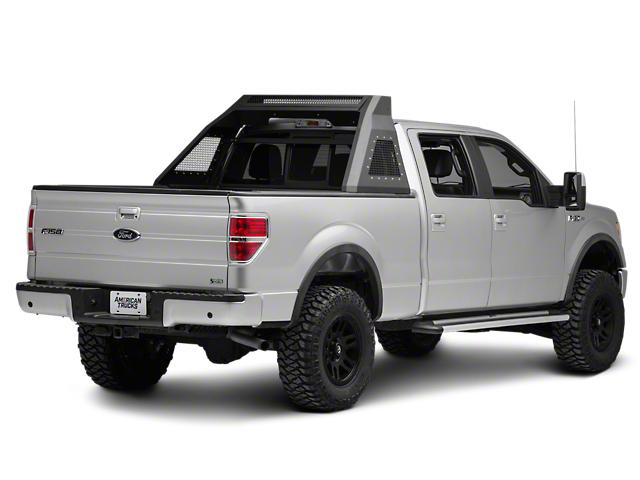 Barricade Aluminum HD Chase Rack - Textured Black (04-19 F-150 Styleside)