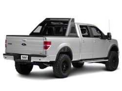 Barricade Aluminum HD Chase Rack; Textured Black (04-20 F-150 Styleside)
