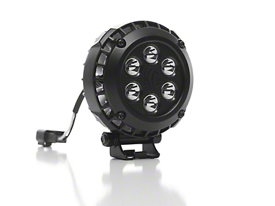 KC HiLiTES 4 in. LZR Series LED Round Light - Spot Beam - Pair (97-18 F-150)