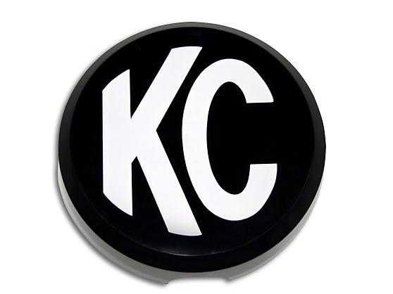 KC HiLiTES 6 in. Daylighter/Slimlite Cover - Black (97-18 F-150)
