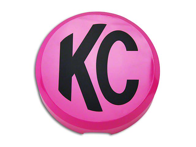 KC HiLiTES 6 in. Daylighter/Slimlite Cover - Pink (97-19 F-150)