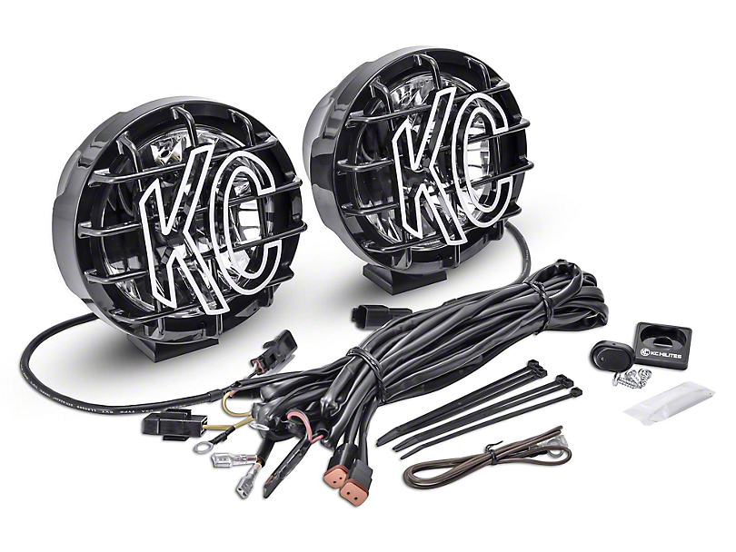 KC HiLiTES 6 in. Gravity Pro-Sport LED Light - Wide-40 Beam - Pair
