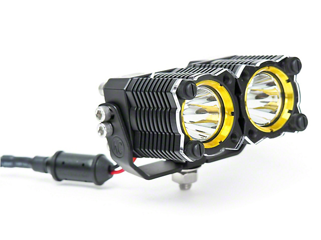 KC HiLiTES Clear Dual Light Shield for KC Flex (97-19 F-150)