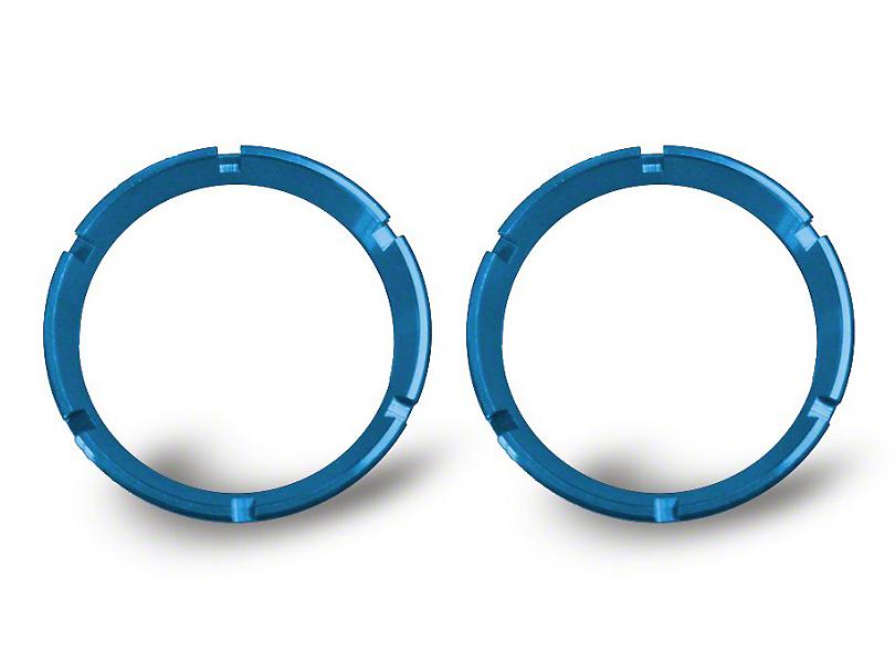 KC HiLiTES Blue Bezel Ring for Flex LED