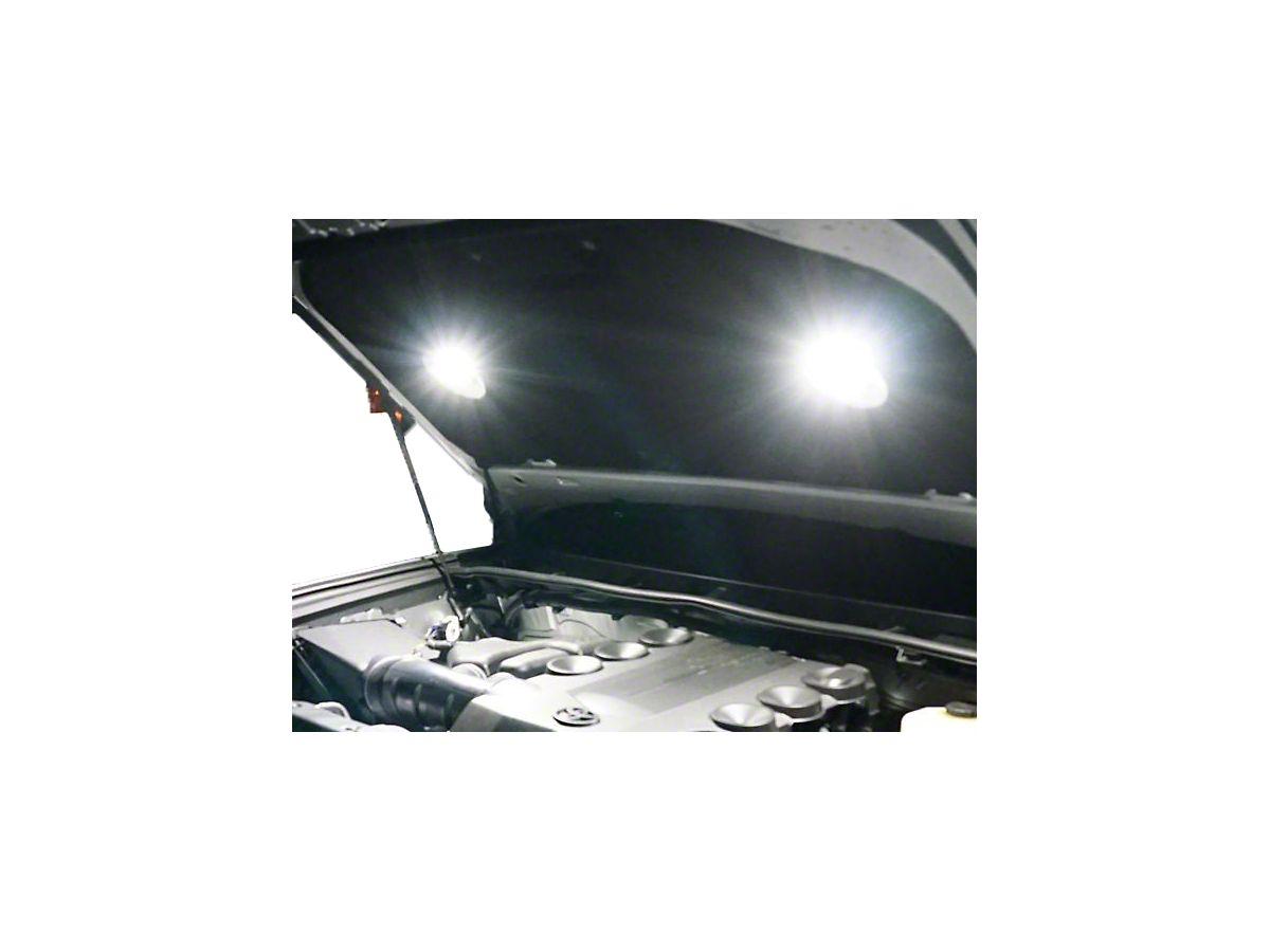 KC HiLiTES 355 Universal Two Light Cyclone LED Under the Hood Lighting Kit