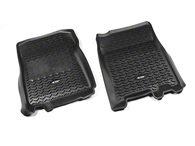 Rugged Ridge All-Terrain Front Floor Liners - Black (97-03 F-150)
